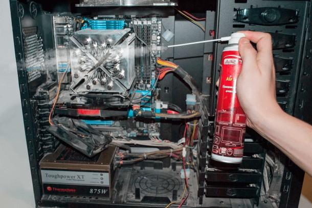 Ремонт компьютеров, ноутбуков. Не включается компьютер.